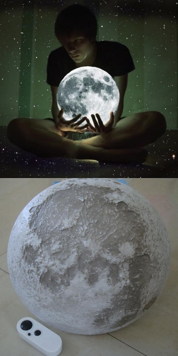 Ночник «Луна» Relaxing Healing Moon на Алиэкспресс