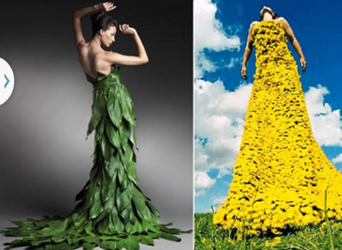 Платье из подручных материалов своими руками для девушки