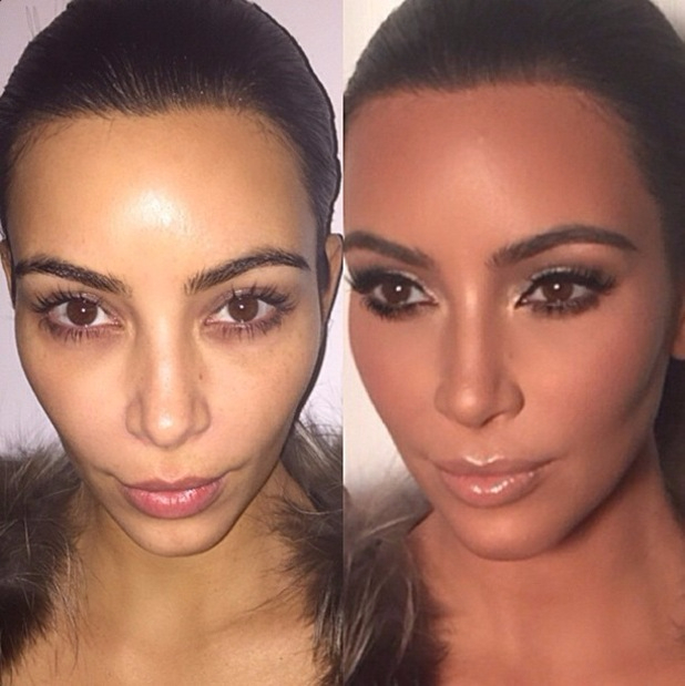Kim kardashian with no makeup