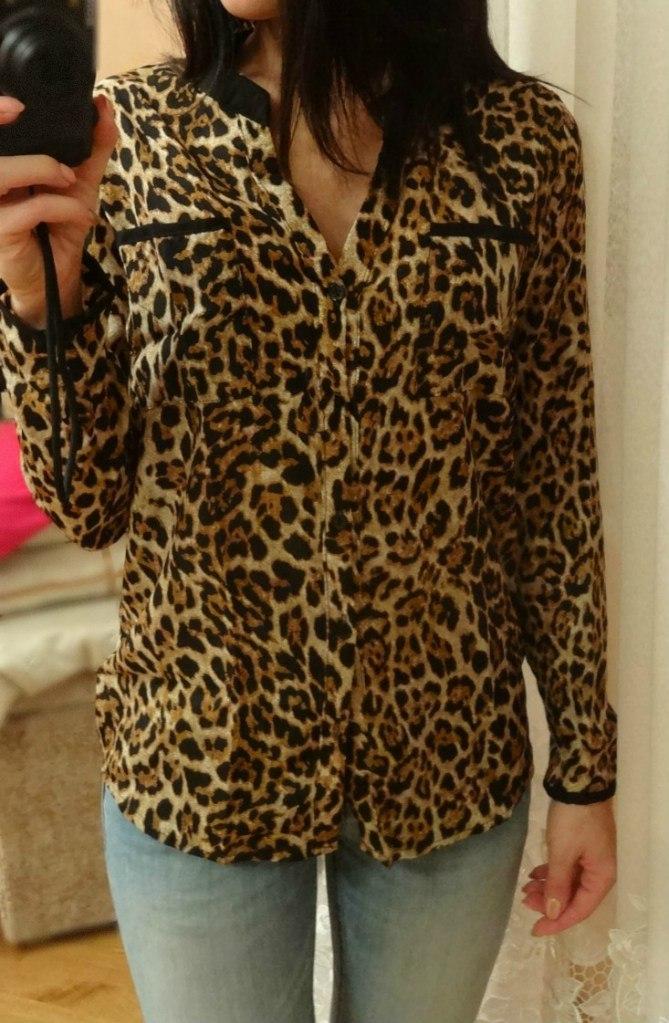Купить Блузку Леопардовую Недорого